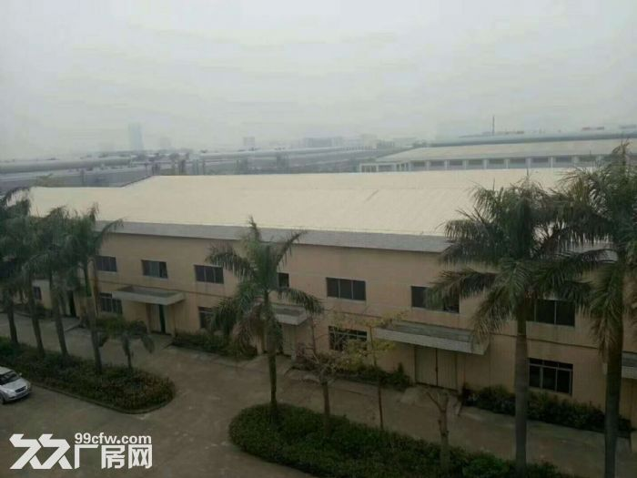 独门独院单一层钢结构10米高厂房10000平方厂房出租-图(2)