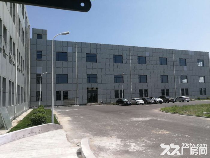 津南八里台5300平米独栋厂房出租手续齐全可办环评-图(1)
