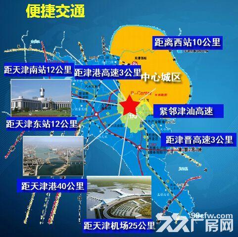 天津梅江商圈5亩−10亩定制企业庭院式厂房独栋办公招商-图(2)