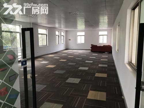 青浦工业园独门独院单层火车头式104绿证1650平厂房出租-图(1)