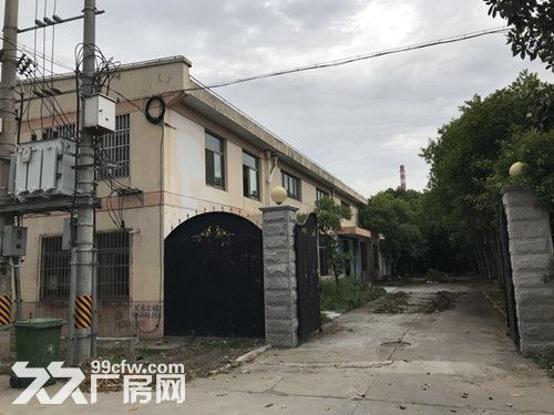 青浦工业园独门独院单层火车头式104绿证1650平厂房出租-图(2)