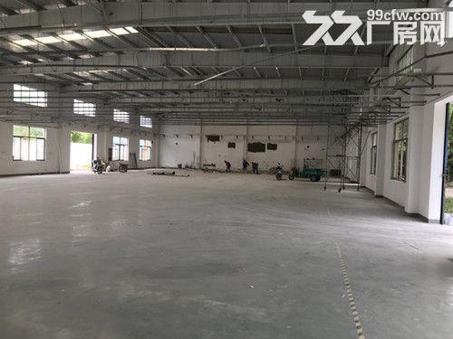 青浦工业园独门独院单层火车头式104绿证1650平厂房出租-图(4)