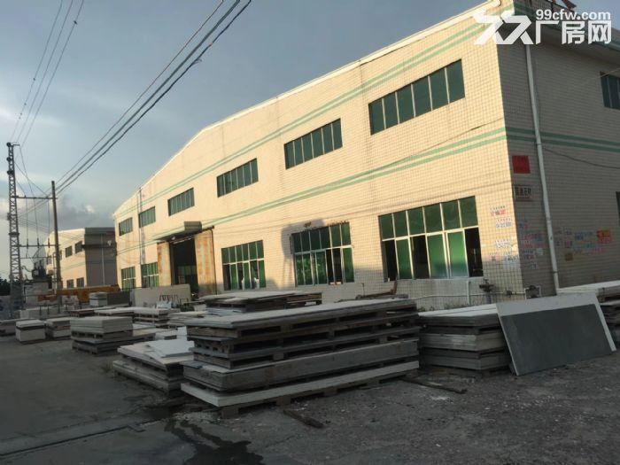 沥林高速路口单层钢构厂房3300平米出租-图(1)