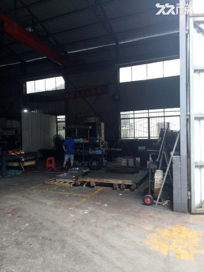 沙坪标准钢结构带行车厂房出租-图(1)