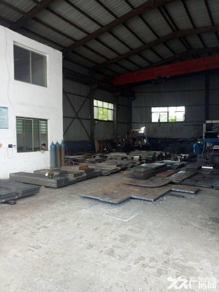沙坪标准钢结构带行车厂房出租-图(5)