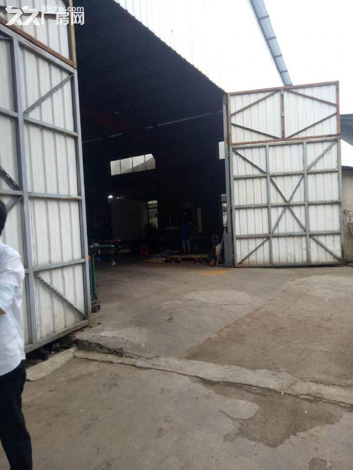 开福区独门独院标准钢结构厂房出租-图(1)