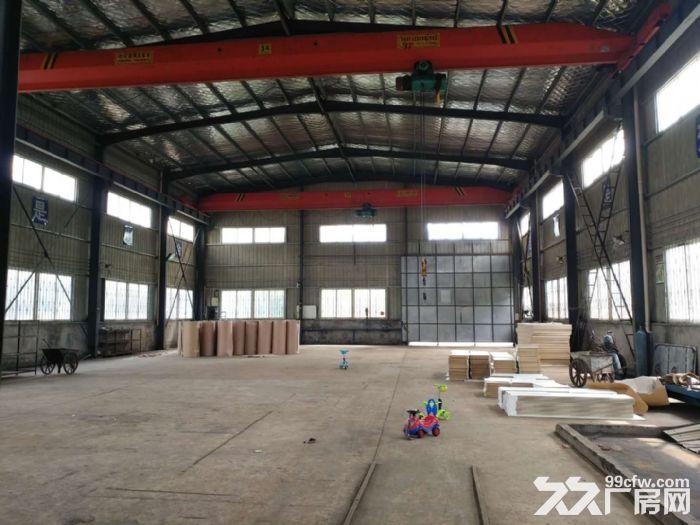 标准钢结构厂房带两台行车可进挂车配套齐全