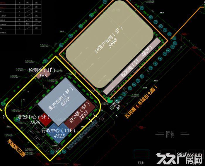 龙泉经开区核心地带1500平带行车环氧地坪厂房出租-图(3)