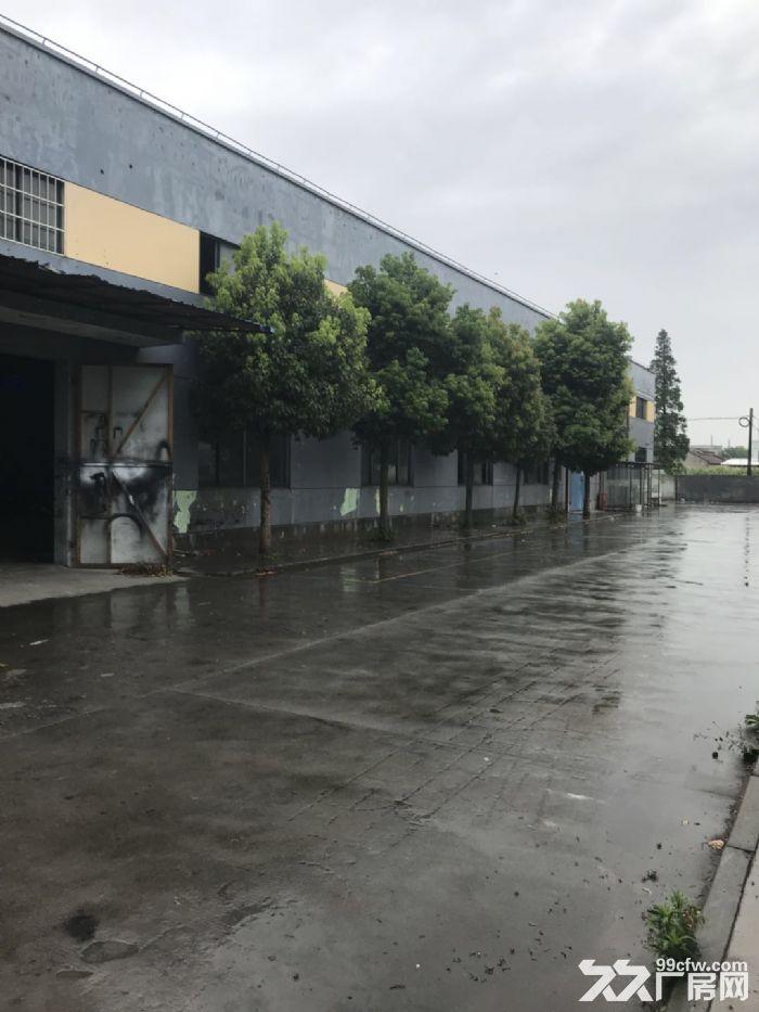 青浦工业区104地块2400平方单层火车头厂房仓库出租,可分割500平方以上,-图(1)