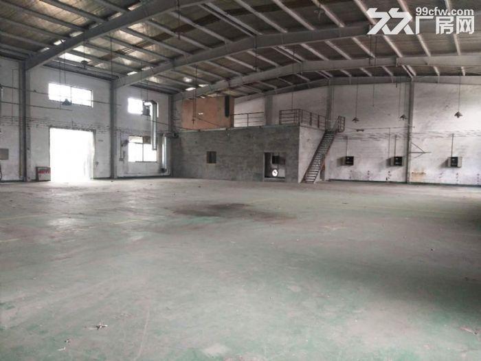 青浦工业区104地块2400平方单层火车头厂房仓库出租,可分割500平方以上,-图(2)