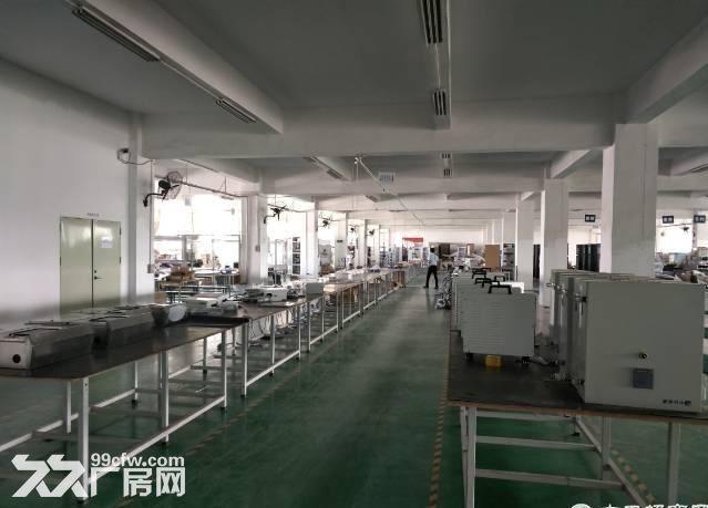 寮步新出楼上整层2200平厂房带精装修无公摊-图(1)
