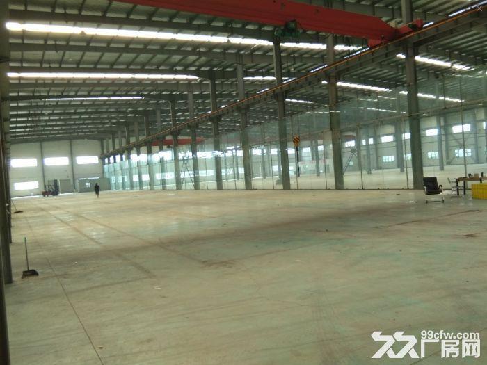 昆山城北独栋单层5000平米机械厂房出租,有行车可以使用-图(2)