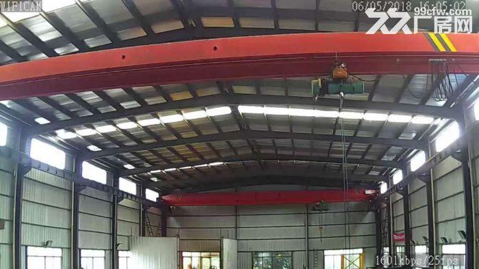 开福区沙坪900平钢结构厂房出租!有行车!带大坪!能进大车!-图(4)