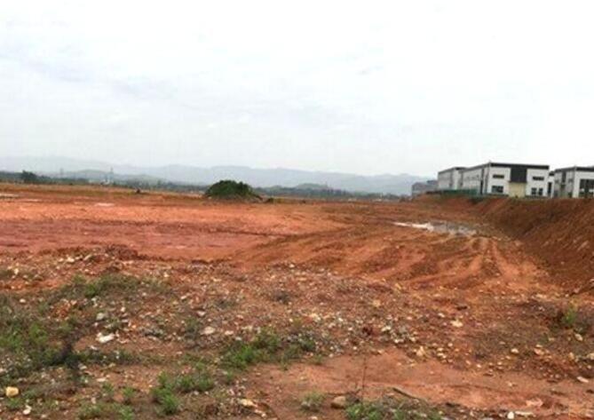 东莞市区域内出售50亩国有工业土地周边工厂密集双证件齐全-图(1)