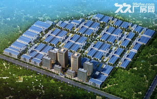 石家庄石清路旁工业用地带土地证50年产权可随时施工-图(2)