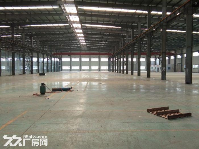 安镇单层机械厂房1300平米出租,高度13.5米带5吨行车-图(1)
