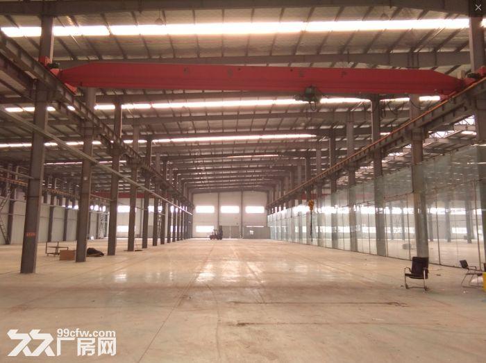 安镇单层机械厂房1300平米出租,高度13.5米带5吨行车-图(2)