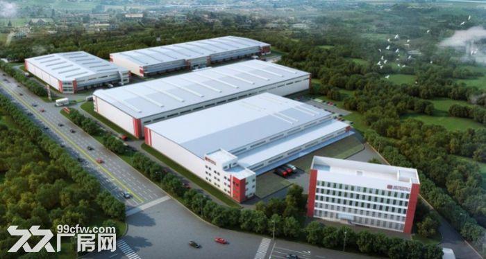 西安市临潼东北方向绕城50000平米单层高标仓库及冷库出租-图(1)