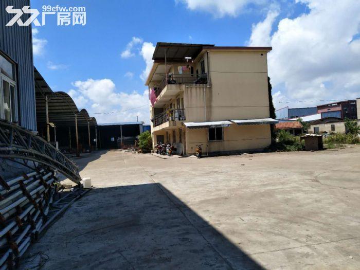 小港江南公路边1300平米一楼钢棚厂房仓库出租-图(1)