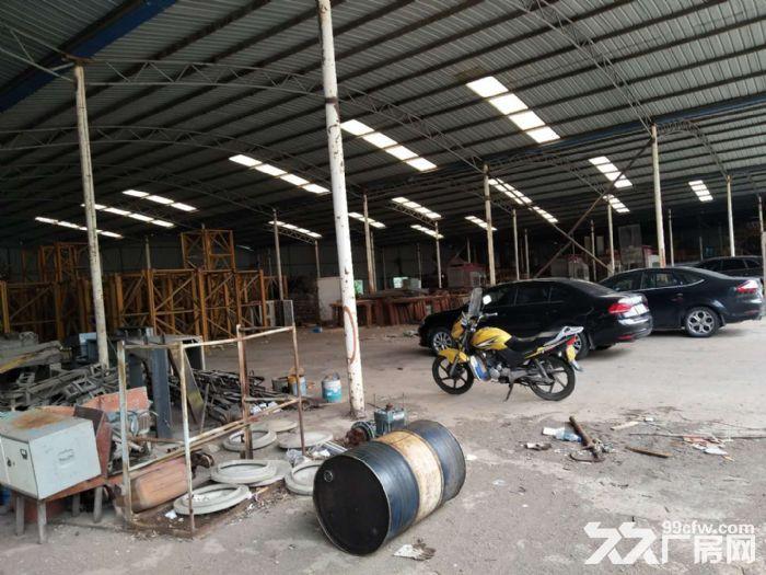 小港江南公路边1300平米一楼钢棚厂房仓库出租-图(3)