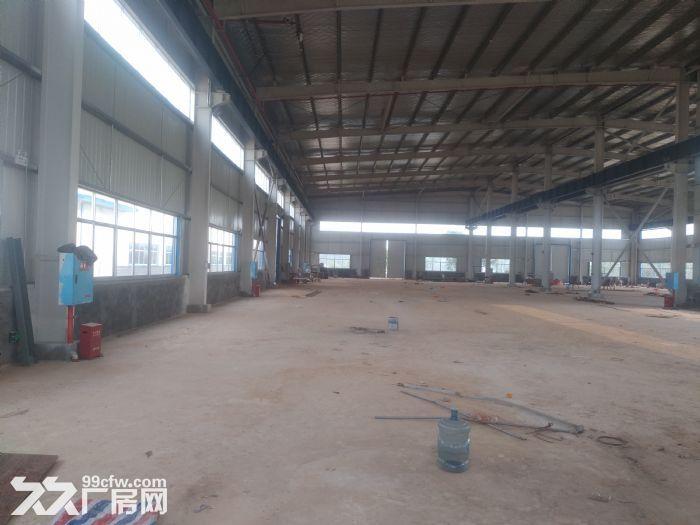 汽车南站钢材市场标准钢结构厂房带行车专变急租-图(4)