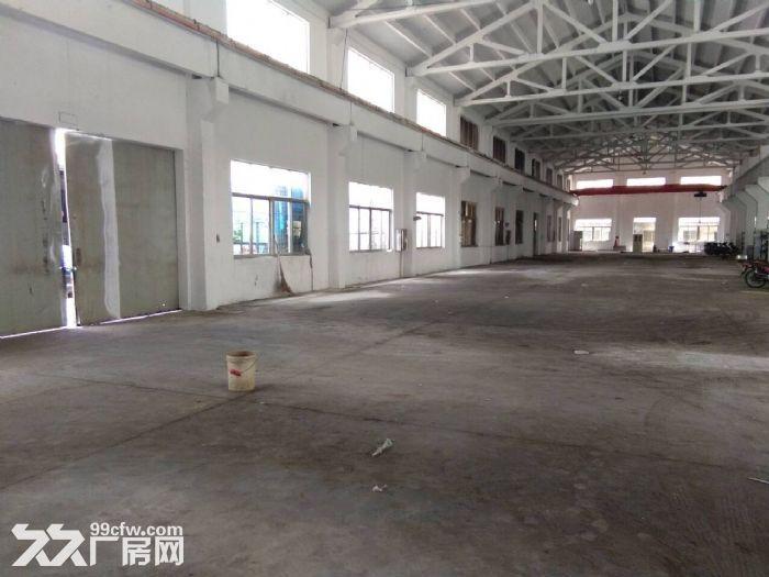 梅村单层机械厂房1300平米带5吨行车出租-图(1)