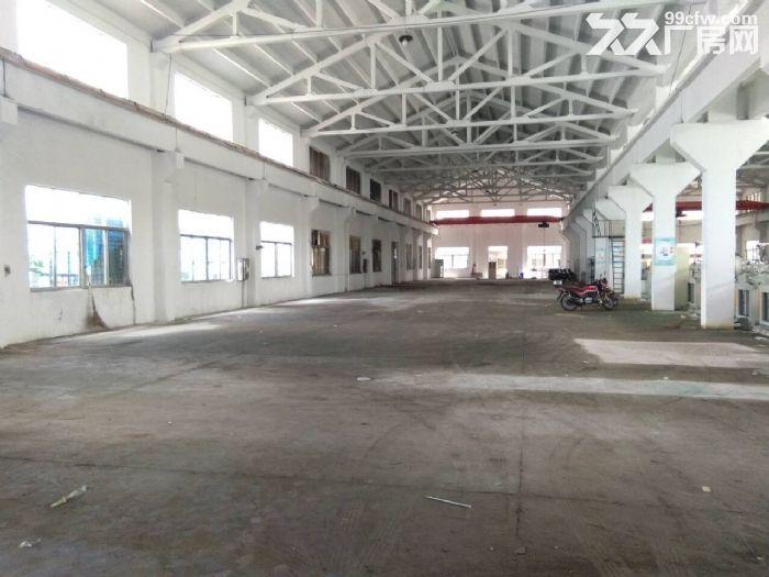 梅村单层机械厂房1300平米带5吨行车出租-图(2)