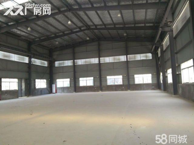 工业区附近1300平钢构18元高9米出租-图(1)