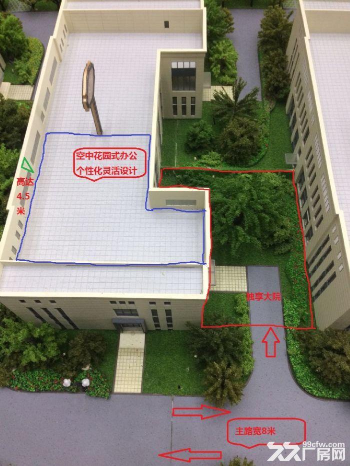 承接北京还迁工业园二层厂房挑高6米生产加工办公研发1300平米-图(1)
