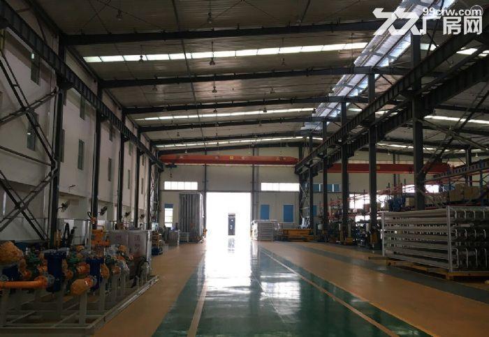 3000平优质单层钢结构厂房、带10吨行车、环氧地坪漆,消防已验收-图(1)