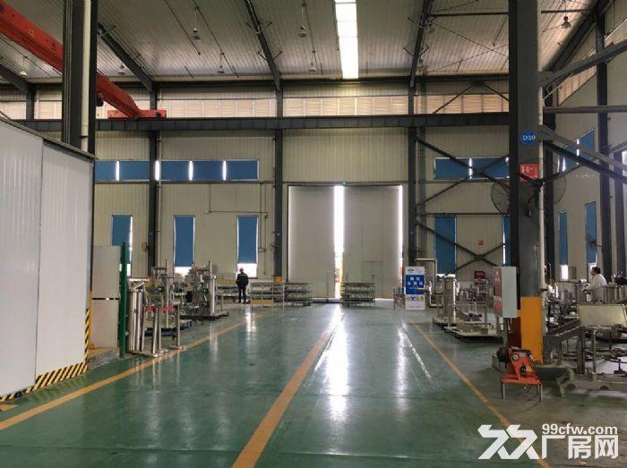 3000平优质单层钢结构厂房、带10吨行车、环氧地坪漆,消防已验收-图(2)