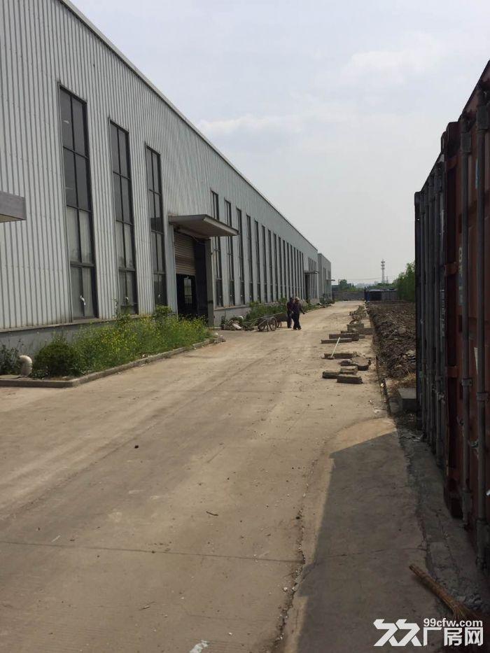 华青路附近,有产证跟环评,2400平方单层高9米厂房仓库出租-图(1)