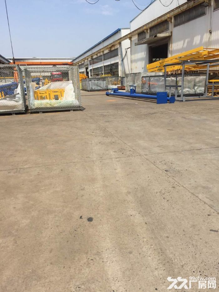 华青路附近,有产证跟环评,2400平方单层高9米厂房仓库出租-图(4)