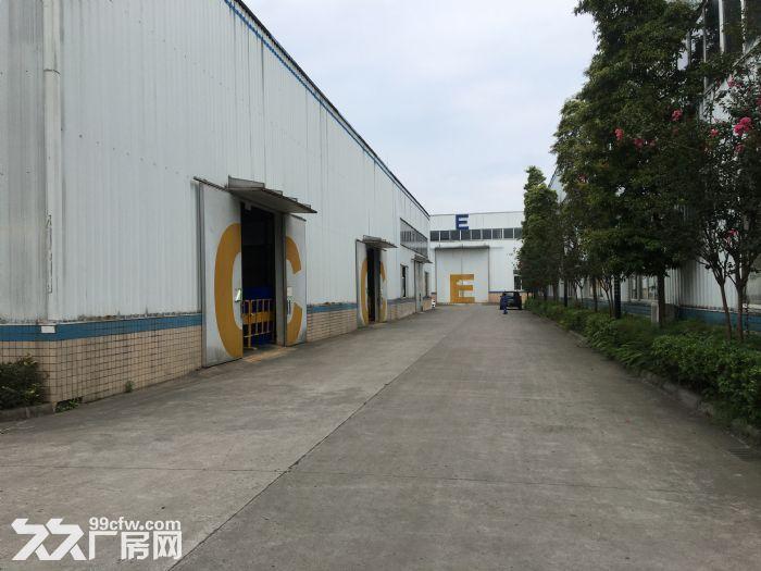 双流西航港双华路2800平米独栋带行轨厂房出租-图(1)