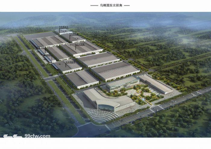 天津西青单层高11米2000平米标准厂房园区直租免中介费-图(1)