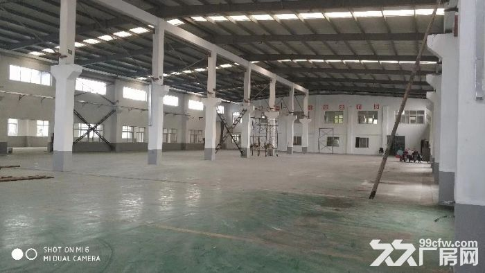原房外冈工业园1043900平厂房仓库急租可分割两栋单层-图(1)