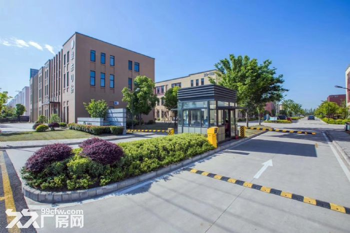 吴中重点项目独栋厂房高标标准绿色产业园区配套宿舍食堂高架路旁绝对好区位-图(1)