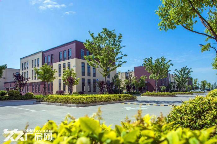 吴中重点项目独栋厂房高标标准绿色产业园区配套宿舍食堂高架路旁绝对好区位-图(4)