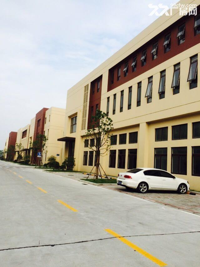 吴中重点项目独栋厂房高标标准绿色产业园区配套宿舍食堂高架路旁绝对好区位-图(5)