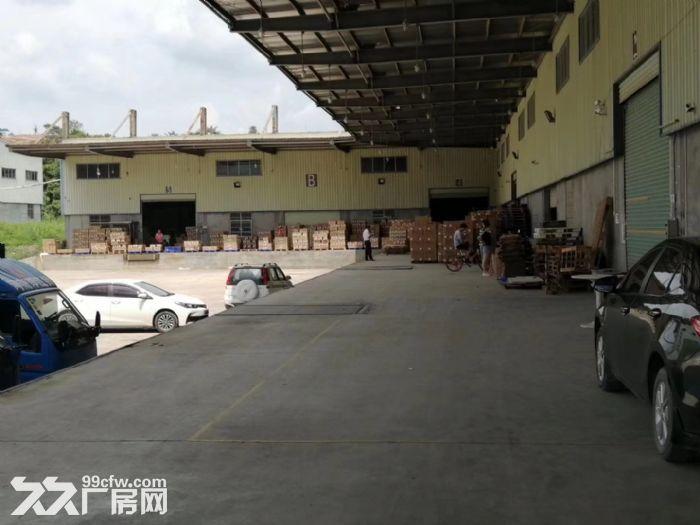 火车北站附近约550平方带卸货平台仓库招租(超大空地)-图(4)