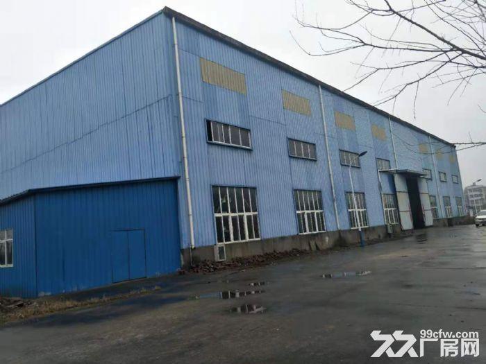 鄂州3000平钢构厂房,带10吨行吊,独门独院,有5000平空地-图(1)