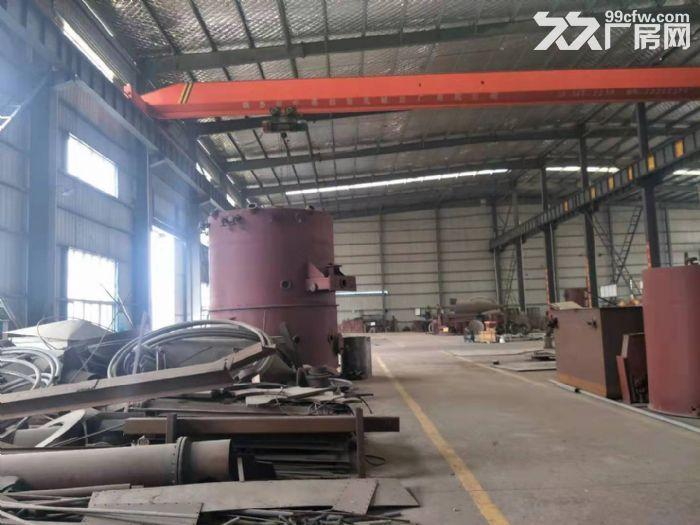 鄂州3000平钢构厂房,带10吨行吊,独门独院,有5000平空地-图(3)