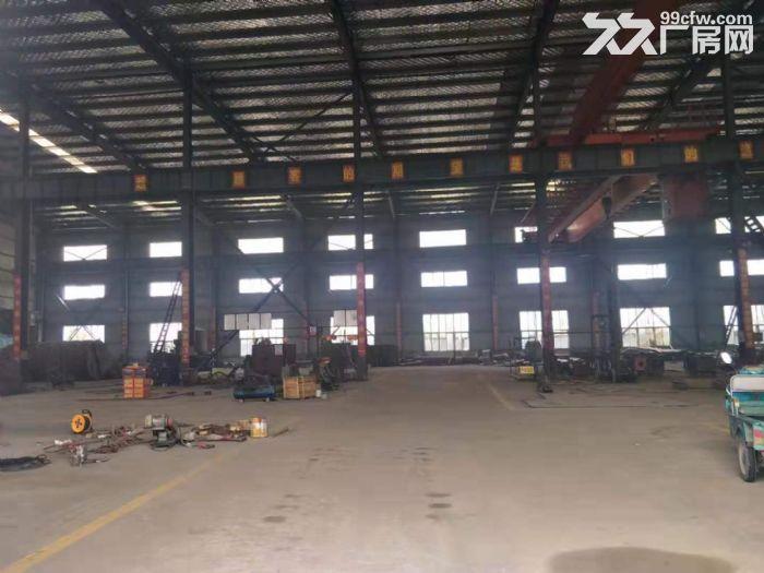 鄂州3000平钢构厂房,带10吨行吊,独门独院,有5000平空地-图(4)