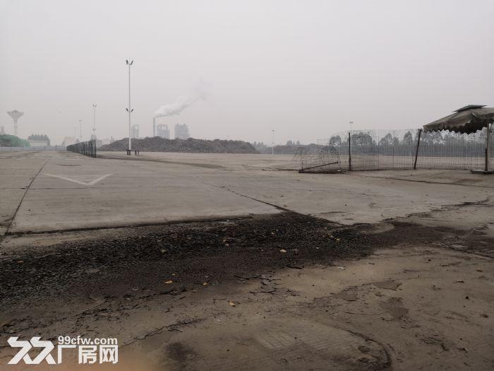 双流西航港双华路50亩硬化工业用地可以分租-图(1)