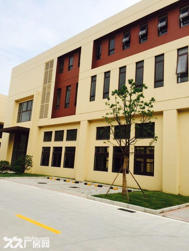 吴中重点项目独栋厂房高标标准绿色产业园区配套宿舍食堂高架路旁绝对好区位-图(3)
