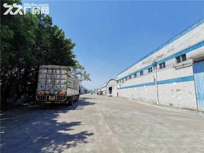 远离民居,高13米,番禺钟村6000平方简易厂房出租-图(4)