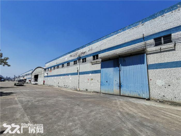 远离民居,高13米,番禺钟村6000平方简易厂房出租-图(5)
