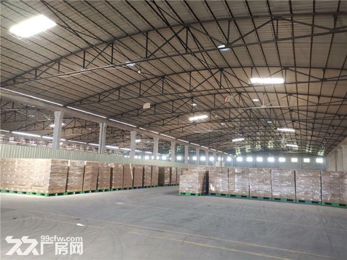 远离民居,高13米,番禺钟村6000平方简易厂房出租-图(8)