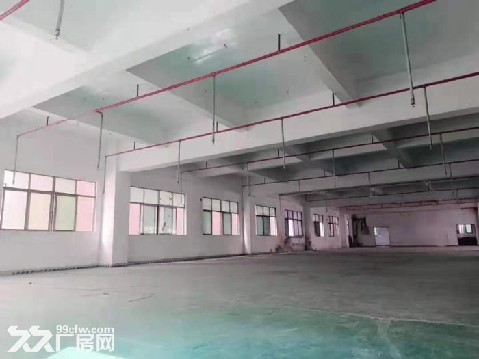 在主干道旁凤岗工业园楼上带装修厂房出租2400平可办环评-图(3)