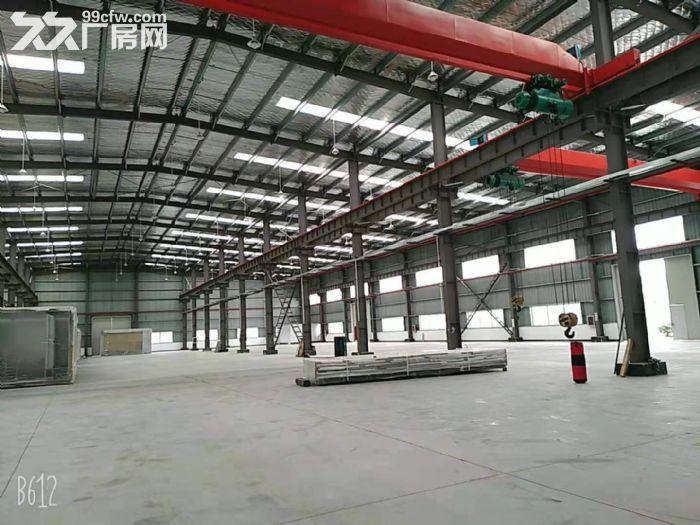 青浦全新厂房招租,厂房面积+办公面积1.3万平带行车,看房随时-图(1)